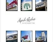 Vintage Santa Monica 2011 Desktop Calendar