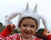 Snowy Monster Ears Children Dress Accessory