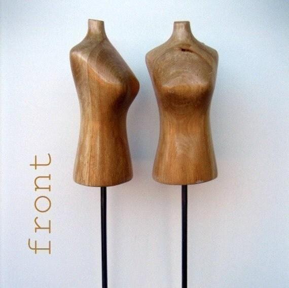 Tiffany's Wooden Mini Mannequin Display Model TALL