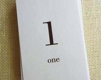 Number Flash Cards 1 thru 100 Printable PDF