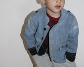 RockN'Roll Jacket - 2T-6T PDF pattern & tutorial. Groovy, Comfy, and Way Too Cool