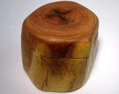 Arizona Mesquite Wood Jewelry Treasure Keepsake box