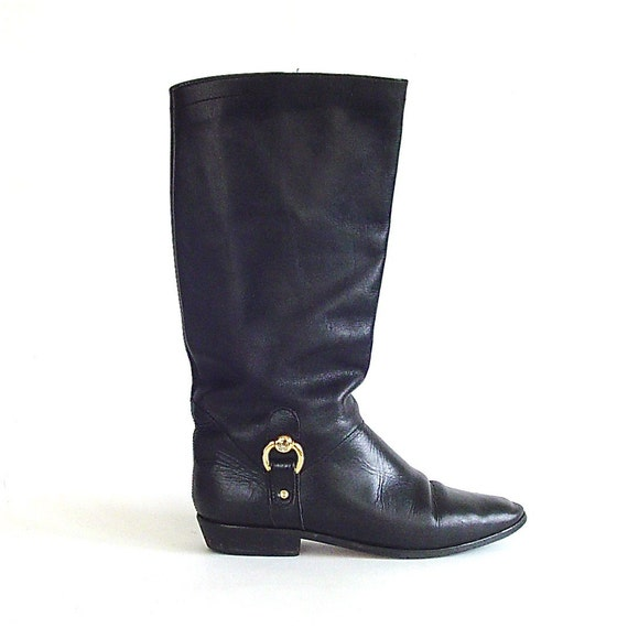 Incredible vintage Etienne Aigner Riding Boots