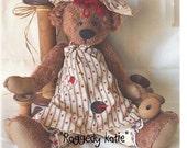 Artist Teddy Bear Pattern - Raggedy Katie