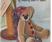 Artist Teddy Bear Pattern - Baxter