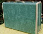 Large Vintage 1950s SAMSONITE SUIT CASE