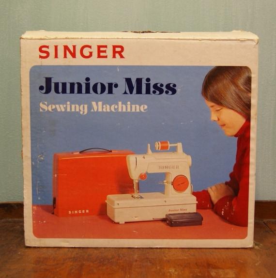 singer junior miss sewing machine
