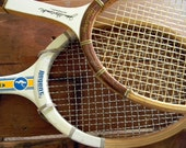 Vintage John Newcombe Tennis Racquet, Regent Racquet set of two
