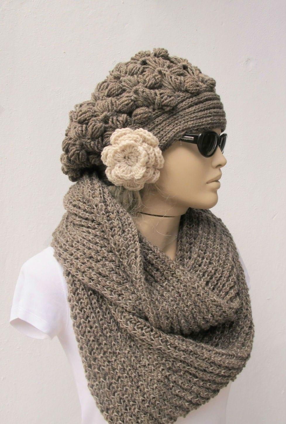 Crochet Hat Scarf Flickr Photo Sharing