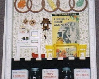 Vintage It's Canning Time Shadowbox