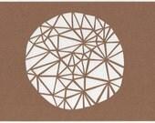 SALE - Circle Papercut