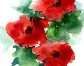 POPPIES - Note Card