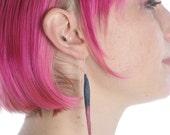 Feather Felt Earrings-SINGLE