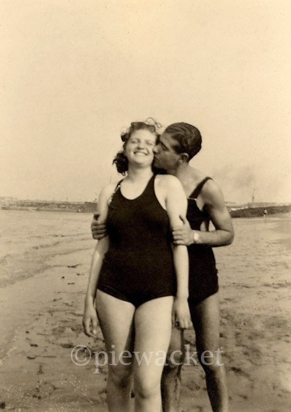 Coney Island Couple Circa 1930s