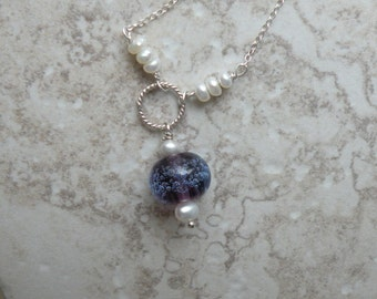 Grape Fizz Necklace - - Made to order