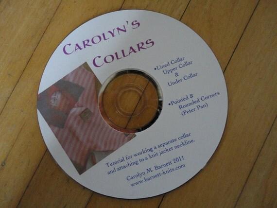 Carolyn's Collars Machine Knitting Tutorial