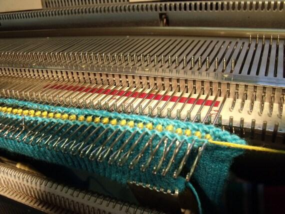 Knitting Machine Tutorial : Carolyn s collars machine knitting tutorial from