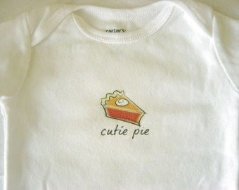SALE Cutie Pie Baby Bodysuit (sizes newborn to 24 months)