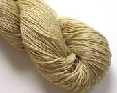 Organic Cotton/Tencel Naturally Dyed Handdyed Yarn Beige