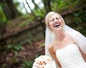 Polka Dot Wedding Gown inspired by CHRISTOS MARIBEL dress