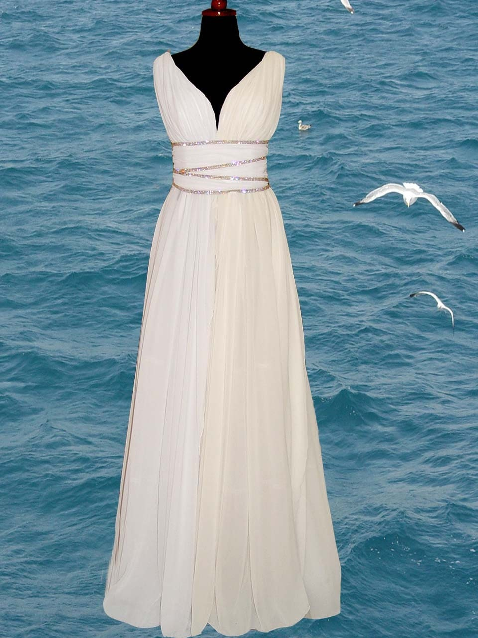 Grecian style wedding dresses wedding dresses 2013 for Dress of wedding style