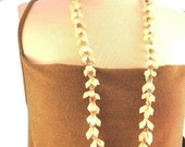 Vintage Mini Shell Long Beach Necklace