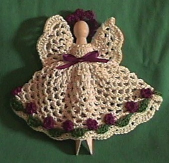 flat crochet angelpattern :) | Crafts | Pinterest