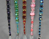 Beaded Olive and Pickle Fork