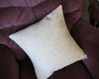 Tan  18 Inch Decorative Pillow Cover