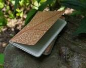 Leaf Skeleton .. Moleskine Cahier Pocket Notebook Journal .. Plain