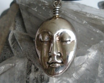 Face Necklace - Large - Featured Treasury Item