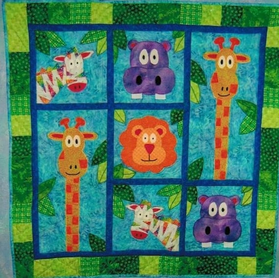 Blake S Jungle Quilt Pattern