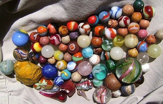Fantastic Mrsmarblelove Antique Vintage Marbles Collection