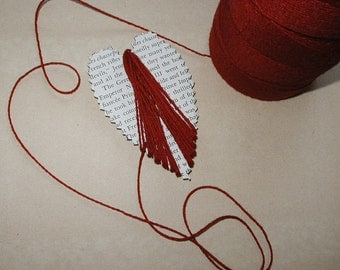 HEARTSTRING - Vintage Red Mercantile String - Valentine