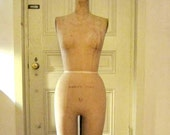 Vintage-Wolf Model Co. NY-Dress-Form-Mannequin-Cast-Iron-1964
