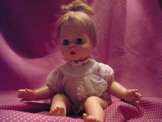 1\/2 PRICE Vintage Baby Pattaburp Doll