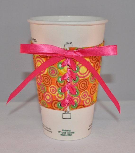 April- Mug Hugger Coffee Cozy - Mug Cozy