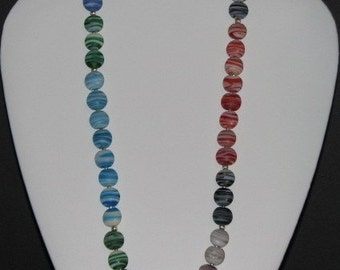 Color Stripes Necklace