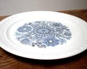 Set of 4 Violet Plates