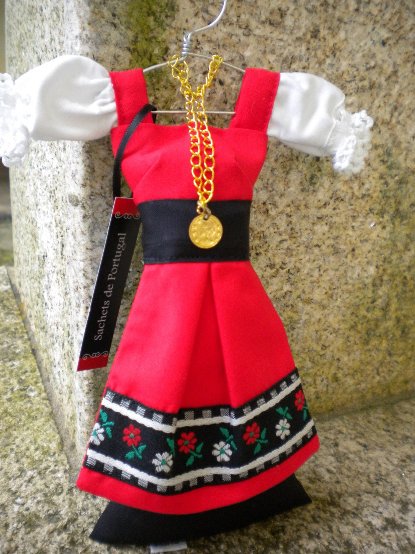 Portugal Portuguese Lavender Traditional Dress Sachet By Atrio