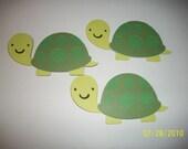 turtle diecuts-lot of 3