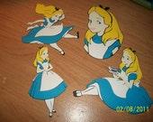 Alice in Wonderland die cuts