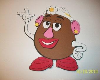 Mrs. Potato Head die cut- toy story