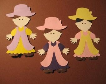3 Dress-up Paper Dolls