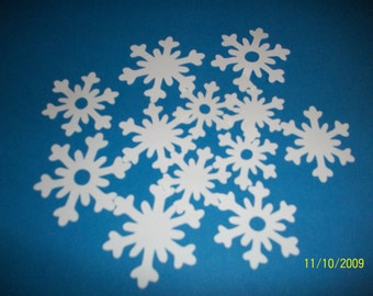 snowflake diecuts -12pc