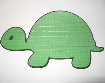 Set of 3 Turtle Journaling Tags
