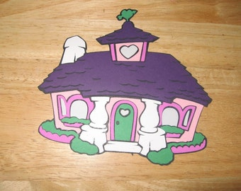 Minnie Mouse House diecut