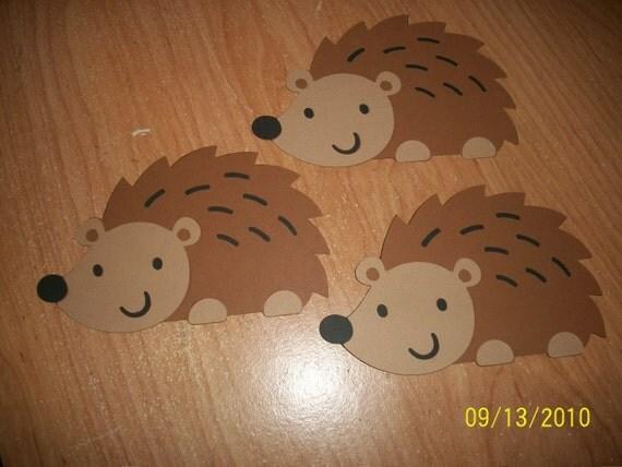 hedgehog die cuts- set of 3
