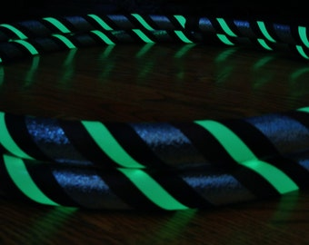 Design Your PeRFeCt GLOW in The DARK Travel Hula Hoop - Choose ANY Colors & Size. Affordable, Pro Hoops Made YouR Way.