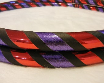 Hula Hoop - Custom Travel Exercise & Dance Hoop - 'The Diva' - Customizable.